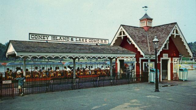 Lake Como Train Station >> Coney Island and Lake Como Railroad